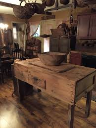 primitive kitchen islands primitive kitchen island ideas for dining room decor