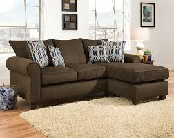 Affordable Sectional Sofas 12 Photo Of Chocolate Brown Sectional Sofa