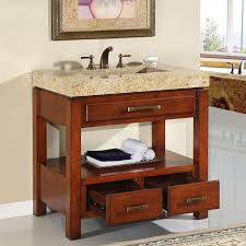 Bathroom Cabinet Ideas by Interesting Decorating Ideas Using Rectangular Brown Wooden Vanity