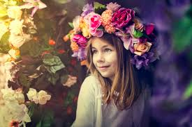 flower headpiece diy tutorial floral crown or headpiece
