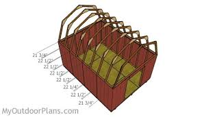 12x16 gambrel shed roof plans myoutdoorplans free woodworking