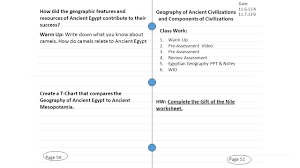 page 51 geography of ancient civilizations and components of