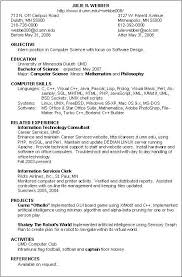 Resume Curriculum Vitae Example by Sample Resume Curriculum Developer Resume Ixiplay Free Resume