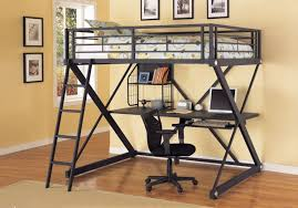 Loft Bed Queen Size Save Space With Queen Size Loft Bed With Desk U2013 Home Improvement 2017