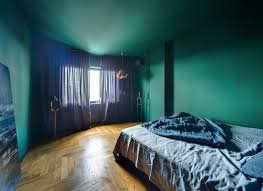 peinture chambre bleu design interieur peinture chambre bleu vert style marocain parquet