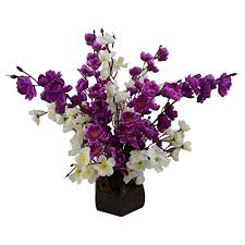 purple orchid flower kaykon beautiful artificial flowers purple orchid flowers with big