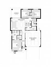 A House Plan With Garage On Half Plot House Floor Plans Floor Plans With Garage