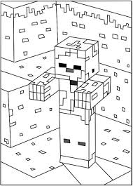 minecraft zombie coloring pages 550x768 picture dane