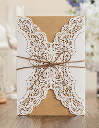 vintage invitations aliexpress buy vintage wedding invitation cards laser cut