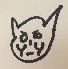 kim soo hyun draws kitty surprises fans
