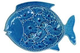 ceramic fish platter trends ceramic fish platter reviews wayfair