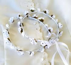 stefana crowns white floral stefana crowns rhinestones orthodox