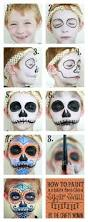how to paint a face sugar skull for dia de los muertos if you
