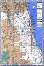 Chicago Trains Map by Chicago U0027 U0027l U0027 U0027 Org History The Cta 1990 Present