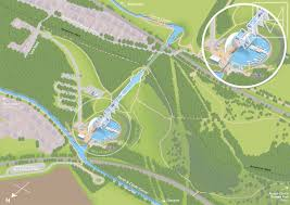 Map Of Glasgow Scotland Visitor Map For The Falkirk Wheel On Behance
