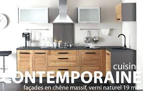 cuisine chene massif facade cuisine chene brut facade cuisine chene brut nos cuisines