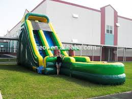 good quality giant inflatable water slide for inflatable