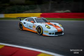 gulf racing fiawec into the final hour at spa sportscarglobal com