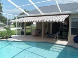Retractable Awnings Tampa Halina U0027s Custom Interiors U0026 Awnings Inc