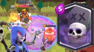 new graveyard spell card halloween update clash royale youtube