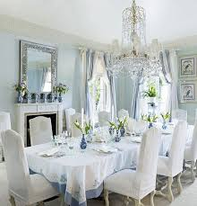 Best Dining Rooms To Die For Images On Pinterest Dining Room - Blue and white dining room