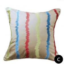 Geometric Embroidered Decorative Pillows For Living Room Home - Decorative pillows living room