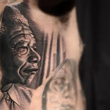 nelson mandela honoured with game tattoo