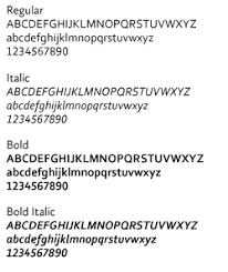 Corbel Bold Typography Identity System Guidelines
