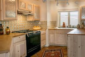 mexican tile kitchen backsplash kitchen with u shaped mexican tile backsplash in santa fe nm