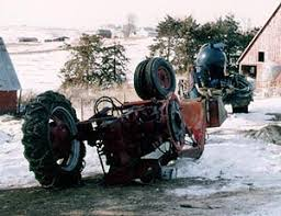 tractor operator killed while moving a trailer