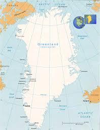 Map Of Denmark Map Of Greenland Denmark