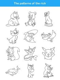 coloring pages draw animal pictures wild animal pictures draw