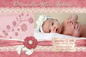 baby girl announcements lace n flowers baby girl birth announcement lace n flowe flickr