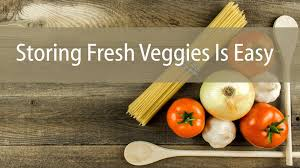 how to store fresh vegetables fast and easy diana stobo youtube