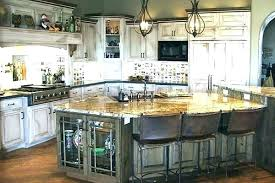 White Washed Cabinets Kitchen White Wash Cabinets Whitewash Cabinets With Black Countertops