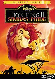 amazon lion king ii simba u0027s pride limited issue