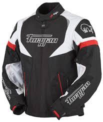 motorcycle touring jacket furygan spark textile tour clothing jackets motorcycle black white