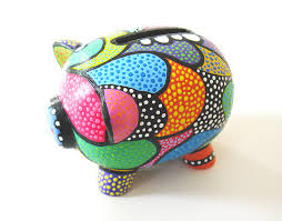 Piggy Bank Favors Art The Pig Piggy Banks Banks And Craft