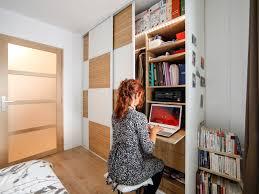chambre gain de place comme béatrice à rezé aménagez votre dressing en bureau dans votre
