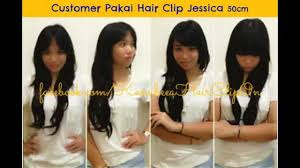 hair clip murah 0857 456 100 55 hair clip extension hair clip extension murah