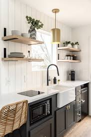 shiplap kitchen backsplash with cabinets photo 8 of 10 in an build a 200 square foot