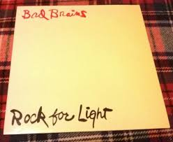 bad brains rock for light popsike com bad brains rock for light lp abstract records abt