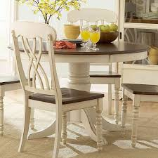 Round White Kitchen Table And Chairs Dining Rooms - Round kitchen dining tables