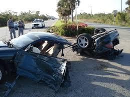 Black Mustang Crash Auto Collisions Pictures Pix Foto Traffic Crashes Collisions