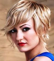 hairstyle square face wavy hair pictures of short wavy hairstyles for square faces