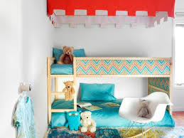 Bunk Bed Canopy Bunk Bed Upgrade Add A Canopy Fabric Panels Hgtv