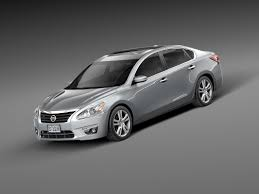 nissan altima white 2012 2013 sedan nissan altima c4d