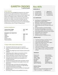 Resume Templates It It Cv Template It Support Cv Template It Cv Template Cv Library