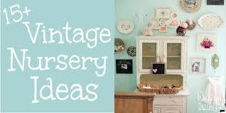 design nursery 15 vintage nursery ideas design dazzle