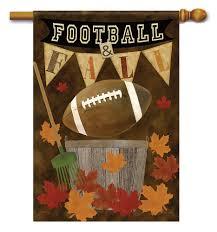 halloween mailbox covers football fall house flag flag trends